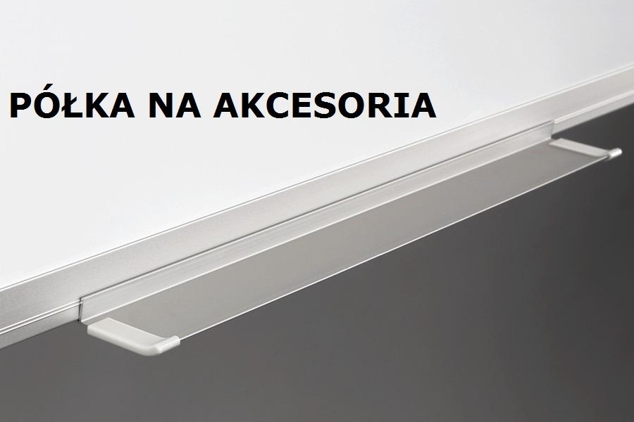 Półka na akcesoria tablica magnetyczna UKF